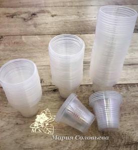 Пластиковый стакан 50 мл.